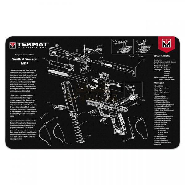 TekMat Cleaning & Repair Mat - S&W M&P