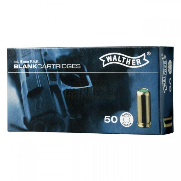 Walther 9mm P.A.K. 50rds