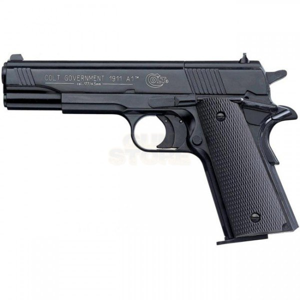 Colt Government 1911 A1 Black Co2 4.5mm Pellet