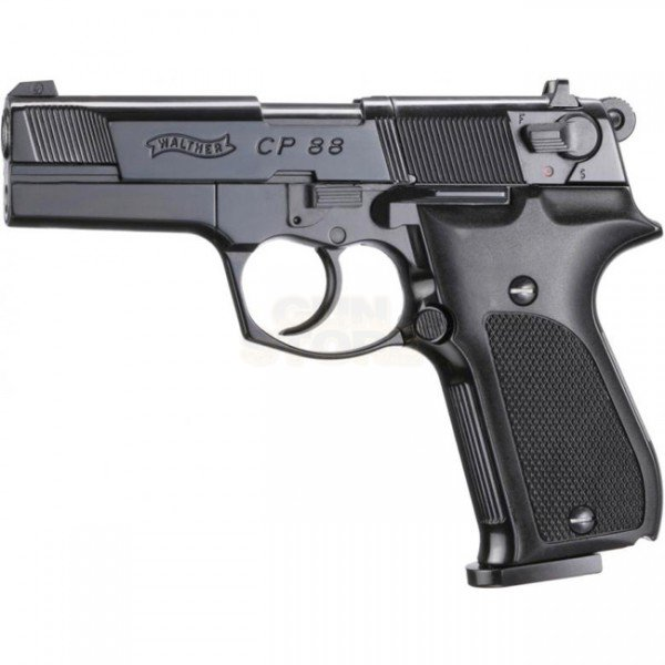 Walther CP88 Black Co2 4.5mm Pellet
