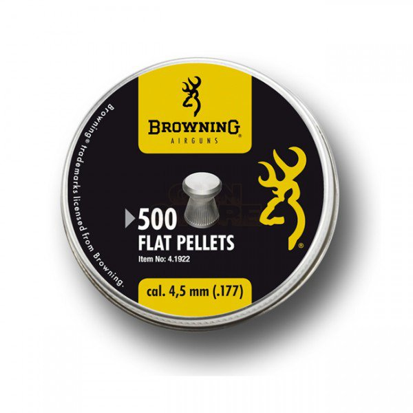 Browning 4.5mm 0.48g Flat Pellets 500rds