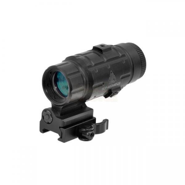 Leapers 3x Magnifier Flip-to-Side QD-Mount