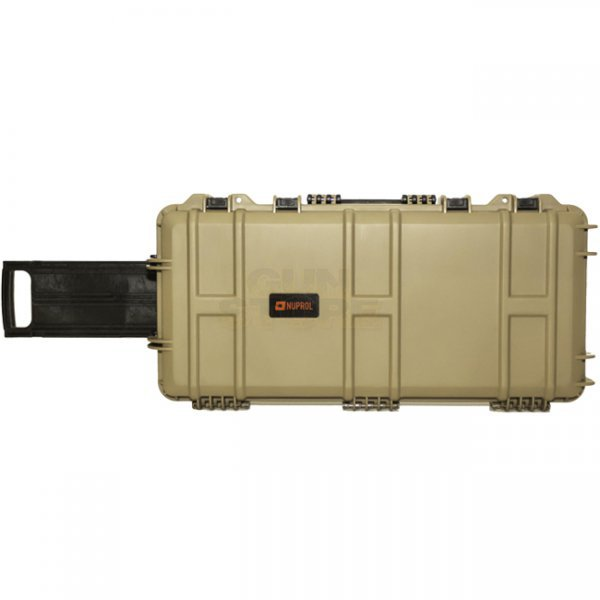 Nuprol Medium Hard Case Wave Foam - Tan