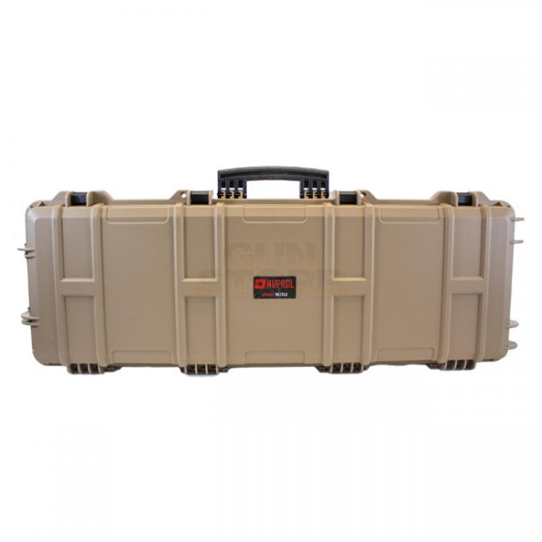 Nuprol Large Hard Case Wave Foam - Tan