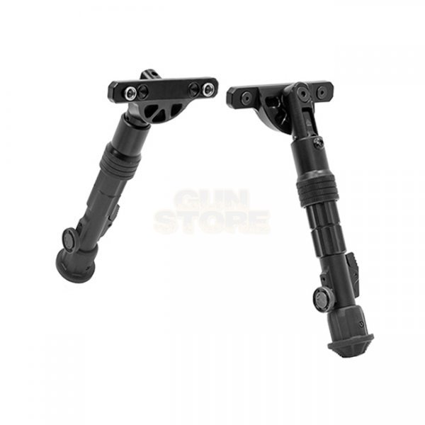 Leapers Recon Flex Keymod Bipod 5.7-8.0 Inch - Black