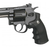 ASG Dan Wesson 8 Inch Revolver Black Co2 4.5mm BB 2