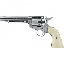 Colt Single Action Army 45 Nickel Co2 4.5mm BB