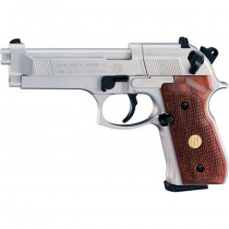 Beretta M92 FS Nickel Wood Full Metal Co2 4.5mm Pellet