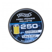 Walther 4.5mm 0.36g High Power Pellets 250rds