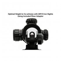 Leapers 4.2 Inch 1x32 Tactical Dot Sight