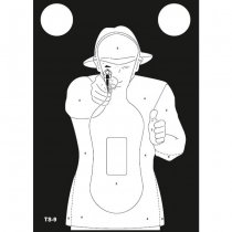 Range Solutions TS-9 Frenchman Practice Target 50pcs