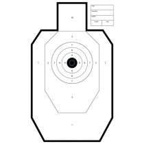 Range Solutions Range Shooting Targets 50pcs